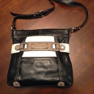 Tignanello multicolor leather Crossbody bag